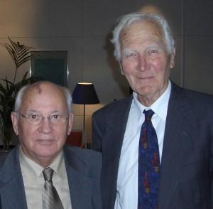 Robert Hinde and Gorbachev