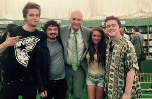 Hay festival 2015 Jon Snow
